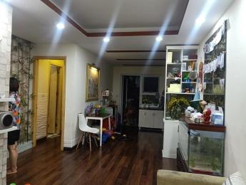 Bán căn hộ tầng 26 tòa HH3 view hồ Linh Đàm, 67m2 thiết kế 2 phòng ngủ và có nội thất giá 1.2 tỷ