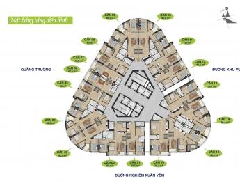 Thông tin chi tiết về tòa B chung cư Kim Văn Kim Lũ - Vinaconex 2 Golden Heart