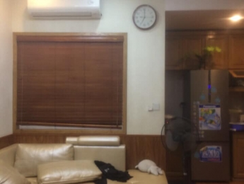 Bán căn hộ ban công Đông nam 46m2 HH4B Linh Đàm 1 ngủ full nội thất giá 820 triệu bao sang tên
