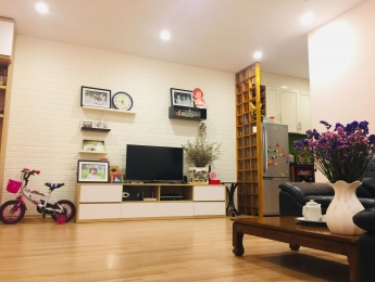 Bán căn hộ tầng 12 tòa VP6 Linh Đàm 68m2 đủ nội thất giá 1.32 tỷ bao tên